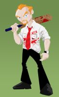 Shaun of the Dead by memorypalace