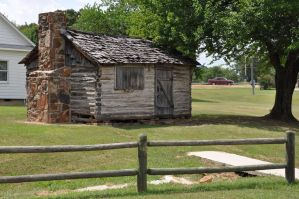 Old Confederate Log Cabin 2 by FairieGoodMother