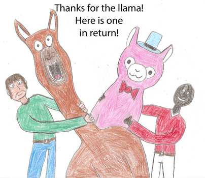 Thanks for the Llama, here is one in return! by ARCGaming91