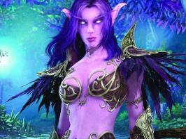 Tyrande by DarkFurian