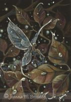 ACEO Golden Dew Fae by JoannaBromley