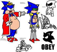 Anti-Sonic: BIFFgame Concepts by RangerSnow