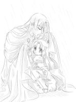 Fanart 100: 086-protect by lady-narven