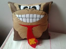 Handmade King of Swing Game Donkey Kong DK Pillow by RbitencourtUSA