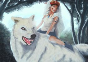 princess mononoke by peatman2020