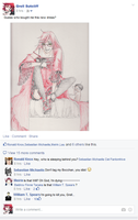 When Grell posts a picture... by HookFISH