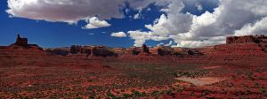 Valley of the Gods Panorama by elektronika7