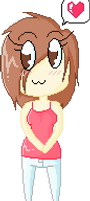 Pixel Chibi CutelyNomelicious by juliaGENOCIDE