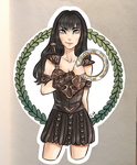 Xena: Warrior Princess by Bill-the-Ghost