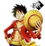 Monkey D. Luffy render 2 by Ferdiferrah
