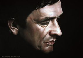 Johnny Cash by andreasmichel