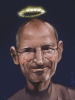 Steve Jobs RIP by StewartMortimer