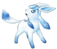 Glaceon by Tyltalis
