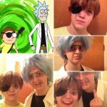 Evil Rick and Morty Cosplay by SouthParkAnimator