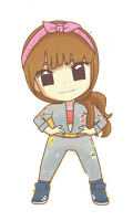 SNSD Sooyoung I Got A Boy Chibi ~PNG~ by JaslynKpopPngs