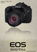 Canon EOS 7D Icon by made-Twenty9