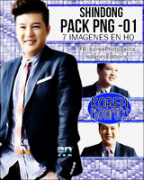 Shindong (Super Junior) - Pack PNG#01 by JeffvinyTwilight
