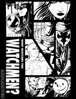 Watchmen Inks by BleedingHeartworks