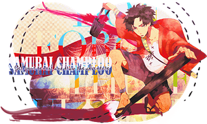 Samurai Champloo Signature by FlowEditions