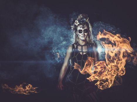 Day of the Dead by shayne-gray