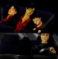 Batfamily Road Trip by UnfortunatePrince