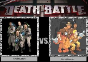 DEATH BATTLE Idea Ghostbusters vs Ghost Busters by JefimusPrime