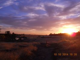 California sky in October by ladylovely530