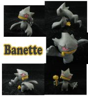Weekly Sculpture: Banette by ClayPita