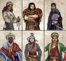 Historia DA collection - Advisors 3 by Lythilien