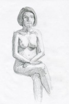 Life drawing 2011 1A by myp55