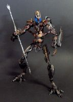 Leader Fallen with Spear by Unicron9