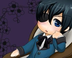 Ciel Phantomhive Chibi by Adelaide-Chrome
