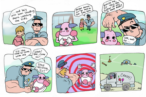 Mr. Mime by JHALLpokemon