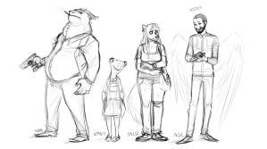 Still the weirdest cast ever by TheScatterbrain
