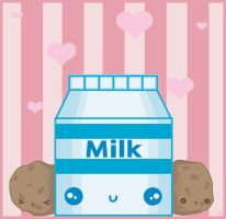 Milk and Cookies by QOTD
