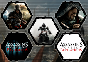Assassin's Creed: Revelations by WE4PONX