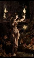 The Dryad by mirallca