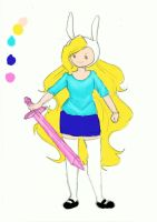 Fionna the Human by alesan94