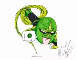 Green Lantern Nova by toonartist