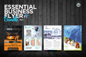RW Essential Business Flyers Vol 1 by Reclameworks