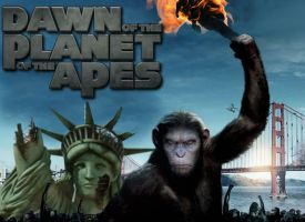 Dawn of the Planet of the Apes by Brandtk