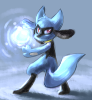 Riolu used Focus Blast by yassui