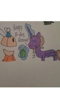 Rooney's B-day! by WaterPony256