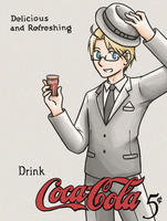 APH- 1920s Vintage Coke Advert by Ilovetodraw