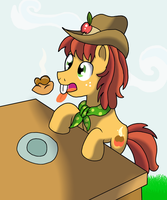 Apple Family Member: Buckwheat by WolfyOmega