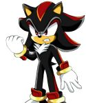 Shadow the Hedgehog Expression by Shadow2Evil4Hell