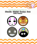 Ghibli Button Set by HoneyDoodles