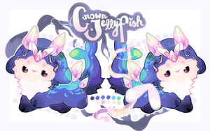 *CLOSED* Crown Jellyfish Oofoo by moonbeani