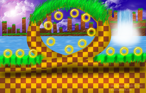 Green Hill Zone BG by Epic-D