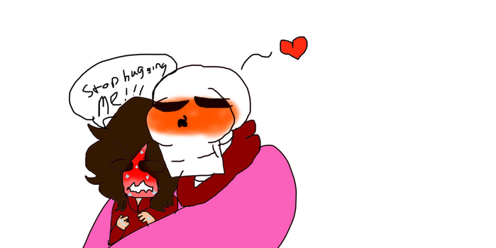Luna x Papyrus stop it now by number1papyrusfan